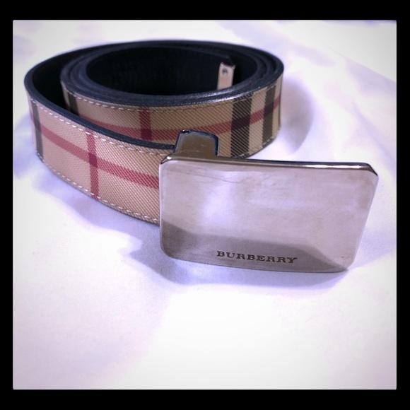 dee76c4e915 Burberry Accessories - Authentic Women s Burberry belt